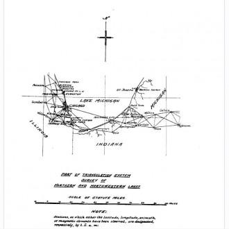 1783 Survey Chicago Michigan
