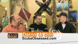 Darrin and Jim on Talking-Scuba