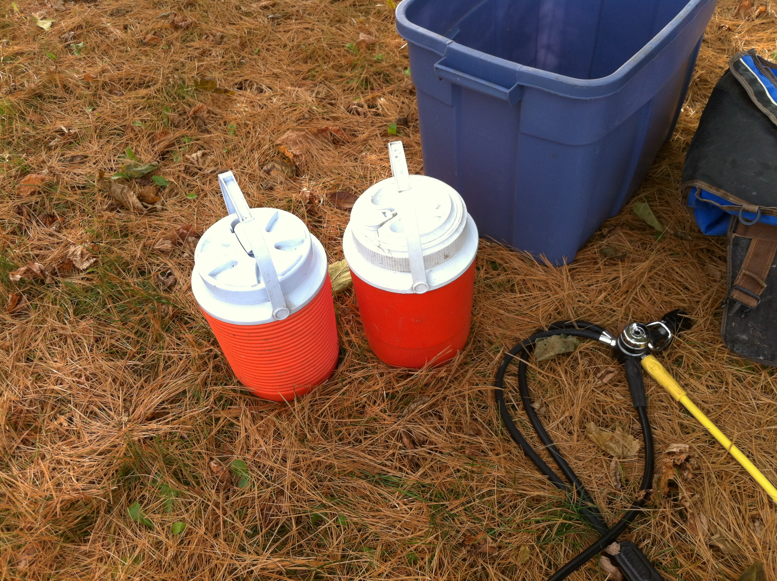 Priming Water Jugs