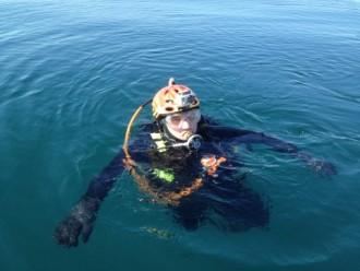 Jim Schultz and His Pre-dive GoPro Video Camera