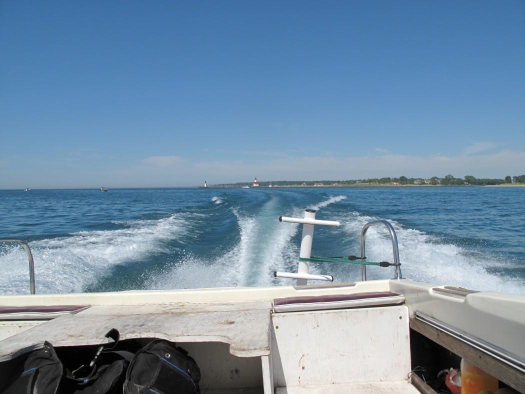 Lake Michigan Out to Macks Wreck