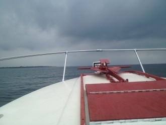 Jim S Boat Toward Land