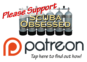 Please donate to Scuba Obsessed via our Patreon Account