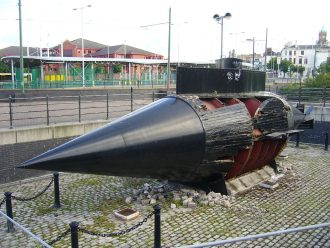 A replica of Resurgam submarine Source: wikipedia.org