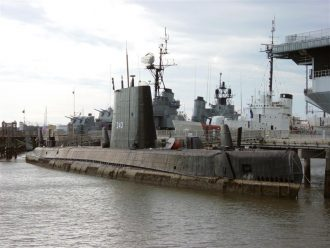 USS Clamagore SS-343 at Charleston, South Carolina November 24, 2003 Source: Wikipedia