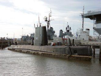 USS Clamagore SS-343 at Charleston, South Carolina November 24, 2003 Source: Wikipedia