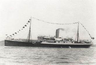 SS Mendi Credit: Wikipedia