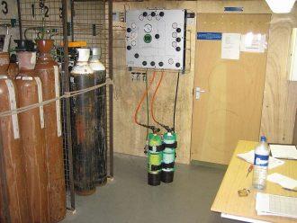 Gas Filling Equipment Credit: Wikipedia