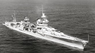 USS Indianapolis Credit: Wikipedia