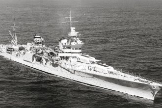 USS Indianapolis Credit: Wikipedia