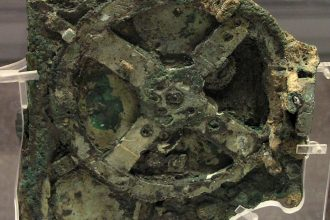 Photo: Antikythera Mechanism Credit: Wikipedia