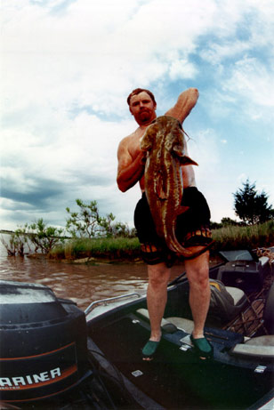 Photo: Picture of Lee McFarlin, noodling guru. Credit: Wikipedia